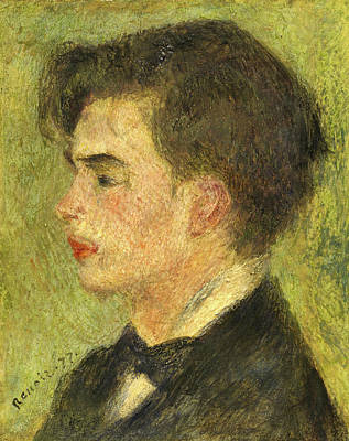 Painting - Georges Riviere by Auguste Renoir