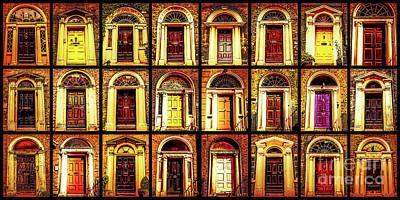 Photograph - Georgian Doors Of Dublin 2 by Lexa Harpell