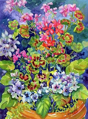 Painting - Geranium II by Ann Nicholson