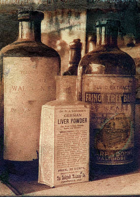 Photograph - German Liver Powder by Garry McMichael