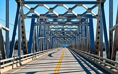 Photograph - On The Gerstle River Bridge by Cathy Mahnke