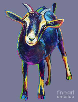 Painting - Gertie, The Goat by Robert Phelps