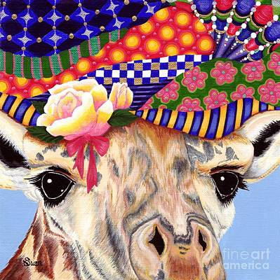 Painting - Gertie's New Hat by KJ Swan