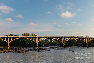 Photograph - Gervais Street Bridge-3 by Charles Hite