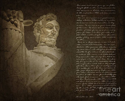 Politicians Royalty-Free and Rights-Managed Images - Gettysburg Address by Diane Diederich