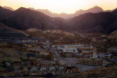 Mosque Photograph - ghost city Umm el Howeitat - Egypt by Joana Kruse