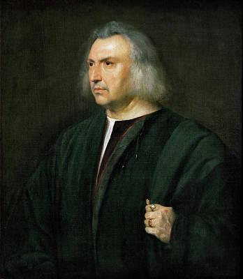 Italian Painting - Gian Giacomo Bartolotti Da Parma by Titian