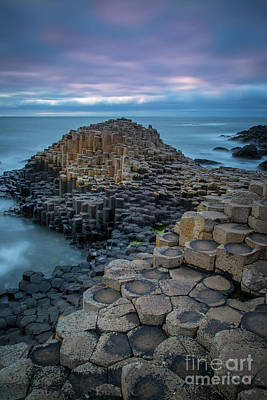 Photograph - Giant's Causeway Evening by Brian Jannsen