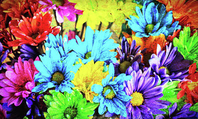 Photograph - Giggle Patch Bouquet by JAMART Photography