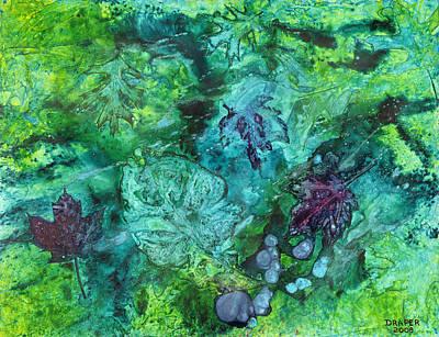 Gilkey Creek Autumn Art Print by James Douglas Draper