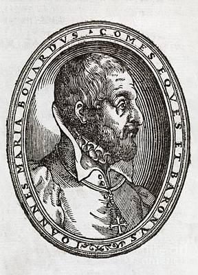 Giovanni Bonardo, Italian Author Art Print