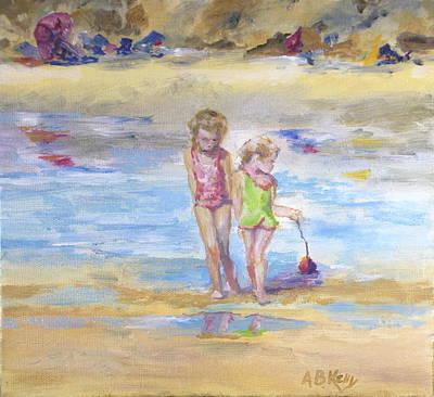 Girls At Beach Original