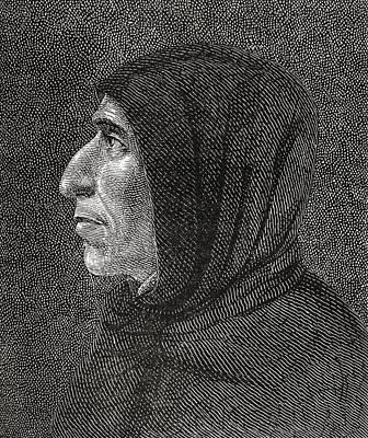 Dominican Drawing - Girolamo Savonarola, 1452 by Vintage Design Pics