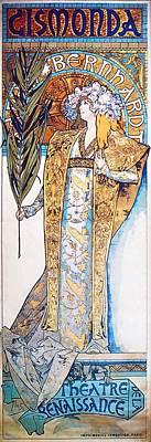 Painting - Gismonda by Alphonse Mucha