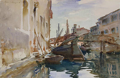 Drawing - Giudecca by John Singer Sargent