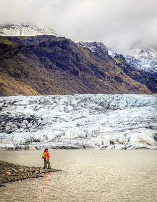 Photograph - Glacier Lagoon by Alexey Stiop