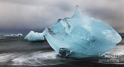 Photograph - Glacier Lagoon Iceland by Gunnar Orn Arnason