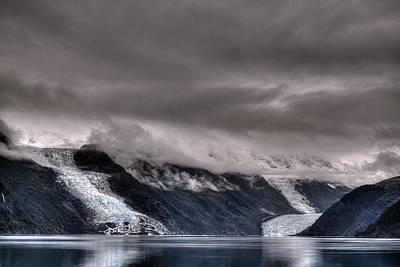 Digital Art - Glacier by Patrick Groleau