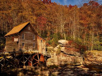 Photograph - Glade Creek Grist Mill by L O C