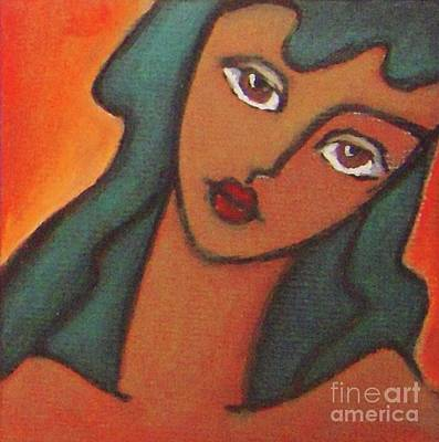 Girl With Brown Eye  Original by Vesna Antic