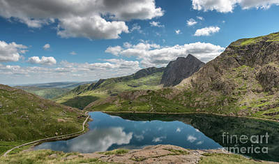 Photograph - Glaslyn Lake by Adrian Evans