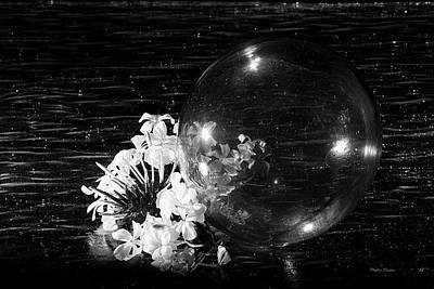 Photograph - Glass Bubble by Phyllis Denton