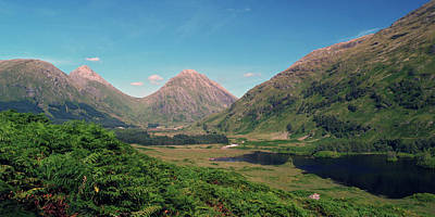 Photograph - Glen Etive by Steve Watson