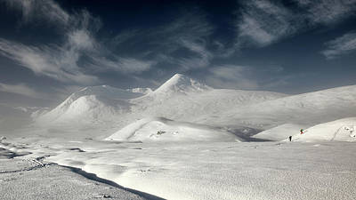 Anchor Down Royalty Free Images - Glencoe Winter Landscape Royalty-Free Image by Grant Glendinning