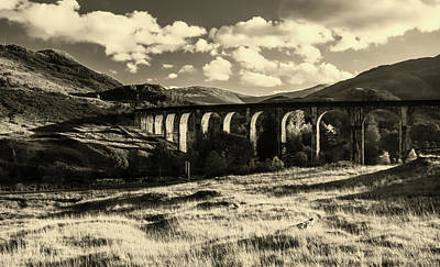 Photograph - Glenfinnan Viaduct, Scotland by Unsplash