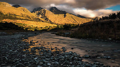 Photograph - Glenorchy, Nz Sunset by Walt Sterneman