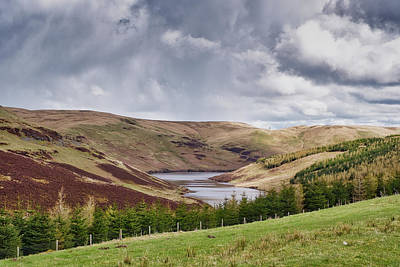 Photograph - Glensherup Reservoir by Jeremy Lavender Photography