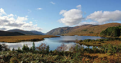 Glenveagh National Park, County Donegal, Ireland. Art Print