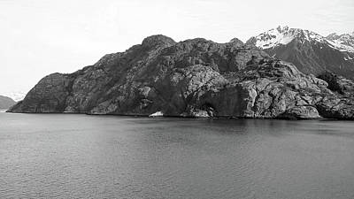 Photograph - Gloomy Knob In Glacier Bay by Judy Wanamaker