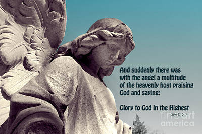 Glory To God In The Highest Art Print