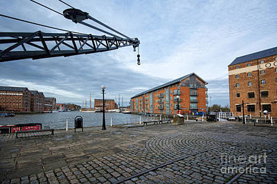 Dock Photograph - Gloucester Docks by Nichola Denny