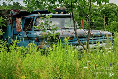 Photograph - Gmc Dump Truck by Alana Ranney