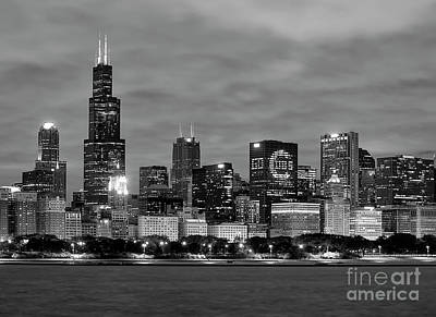 Skylines Royalty-Free and Rights-Managed Images - Go Cubs Go by Jeff Lewis