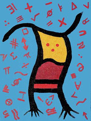 Go Figure Art Print