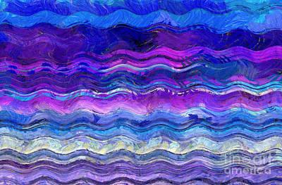 Digital Art - Go With The Flow by Krissy Katsimbras