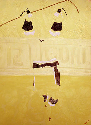 Hockey Art Painting - Goal By Yack by Ken Yackel