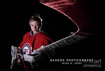 Photograph - Goalie by Brian Jones
