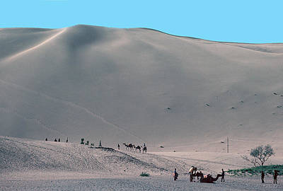 Photograph - Gobi Desert In Mongolia by Carl Purcell