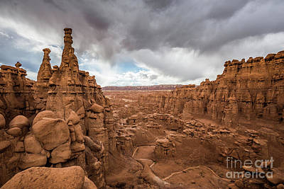 Photograph - Goblin Valley State Park by JR Photography