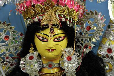 Goddess Durga Photograph - Goddess Durga by Mrinal Nag