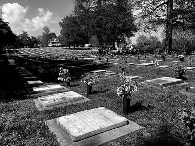 Photograph - Gods Acre Old Salem by James C Thomas