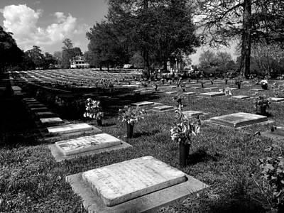 Photograph - Gods Acre Old Salem by James C Thomas