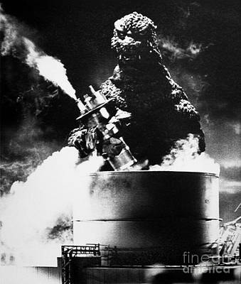 Petroleum Photograph - Godzilla by Granger