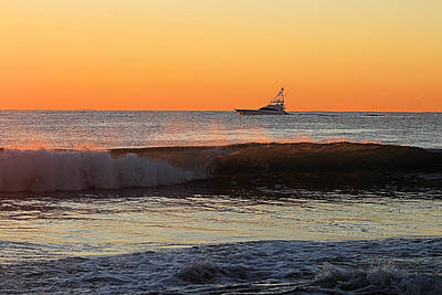Photograph - Going Fishing At Dawn by Robert Banach