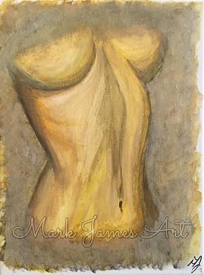 Gold Lust Art Print by Mark James