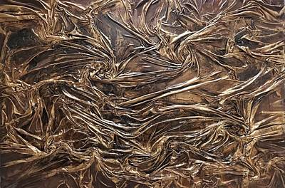 Mixed Media - Gold Mining by Angela Stout